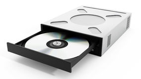 Internal disc drive. 3D illustration Royalty Free Stock Images