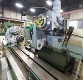 Internal grinding machine. Shop for metal machining. Old Internal grinding machine. Shop for metal machining Stock Photography