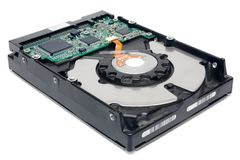 Internal Hard Disc (Perspective View) Stock Photography
