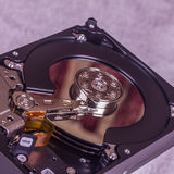 Internal Hard Disk Drive Stock Photo