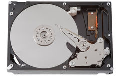 Internal Hard Drive Stock Photo