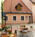 Internal inn in old Riga, Latvia Royalty Free Stock Image