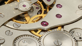 Internal mechanism watches Stock Image