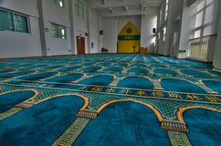 Internal Mosque Stock Image