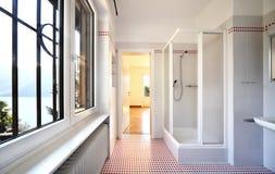 Internal nice bathroom Stock Photos