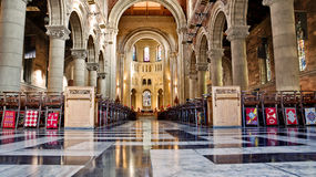 Internal Of Cathedral Saint Anne In Belfast Royalty Free Stock Images