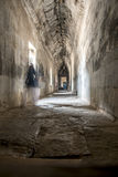 Internal passageway in Angkor Wat Stock Images