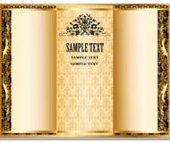 Internal registration booklet design Royalty Free Stock Images