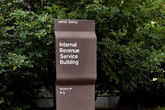 Internal Revenue Building Sign Royalty Free Stock Images