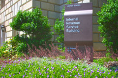 Internal Revenue Service Building Stock Image