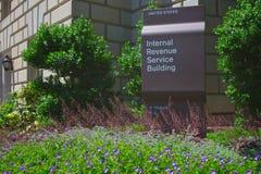 Internal Revenue Service-Gebäude Stockbild