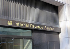 Internal Revenue Service i NY. Royaltyfri Foto
