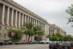 Internal Revenue Services Building Washington DC Royalty Free Stock Images