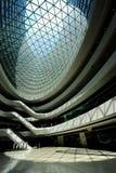 Internal space of Galaxy SOHO, Beijing Stock Image