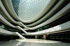 Internal space of Galaxy SOHO, Beijing Royalty Free Stock Photos