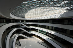 Internal space of Galaxy SOHO, Beijing Stock Photography