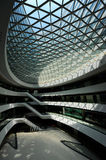 Internal space of Galaxy SOHO, Beijing Royalty Free Stock Images