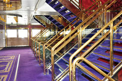 An internal staircase Stock Photos