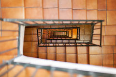 Internal Stairs Stock Photography