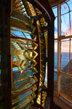 Internal structure of the lighthouse. Royalty Free Stock Photo