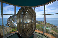 Internal structure of the lighthouse. Royalty Free Stock Image