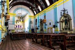 Internal view of a church Stock Photos