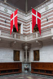 Internal View of Copenhagen City Hall, Denmark. Royalty Free Stock Photography
