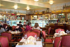 Grand Cafe Praha in Prague Royalty Free Stock Photography