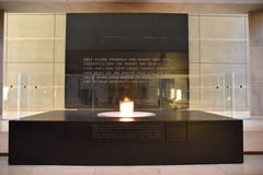 Internal view of the Holocaust Memorial Museum, in Washington DC, USA. Royalty Free Stock Photography