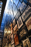 Internal view of the Holocaust Memorial Museum, in Washington DC, USA. Stock Images