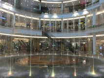 Internal View The Promenade Bangkok Shopping Mall Stock Photography