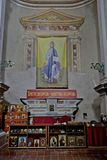 Indoors of Saint Michael church in Neive Royalty Free Stock Image