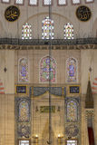 Internal view of Suleymaniye Mosque, Istanbul Stock Photography