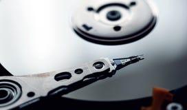 Internals di un disco rigido HDD Immagine Stock