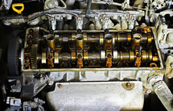 The internals of the engine Stock Photos