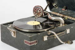 Internals gramofonu zakończenie up Zdjęcia Royalty Free