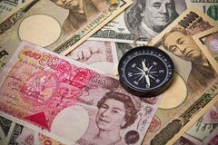 Internation currencies Stock Image