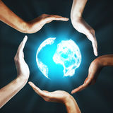 Internation global business concept Royalty Free Stock Images