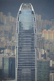 Internationa Financial Center from Victoria Peak Royalty Free Stock Images