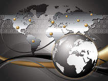 Internationaal bedrijf royalty-vrije illustratie