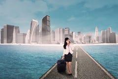 Internationaal bedrijfsreisconcept Stock Fotografie
