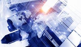 Internationaal bedrijfsvennootschap Gemengde media Gemengde media royalty-vrije illustratie