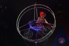 Internationaal circusfestival Stock Fotografie