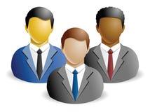 Internationaal Commercieel Team Royalty-vrije Stock Afbeelding