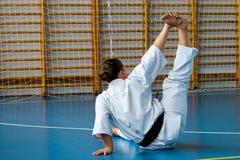 Internationaal de karate van de zomerkyokushinkai opleidingskamp in Hongarije Stock Afbeeldingen