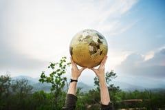 Internationaal de Maatschappijconcept van het wereld Globaal Voorzien van een netwerk Royalty-vrije Stock Fotografie