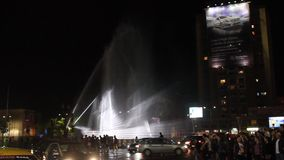 Internationaal festival van licht, Boekarest 2015 stock video