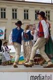 Internationaal folklorefestival CIOFF Royalty-vrije Stock Foto's