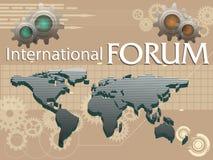 Internationaal forum Stock Afbeeldingen
