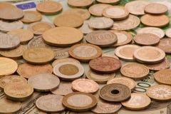 Internationaal geld stock afbeeldingen